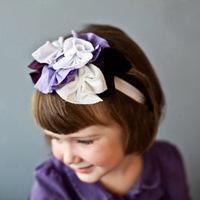 Детский аксессуар для волос Baby headband  baby feather headband