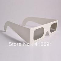 Wholesale 1000pcs/lot 45/135 degrees Paper Cardboard Linear Polarized 3D Glasses, EMS/DHL/FedEx/UPS shipping