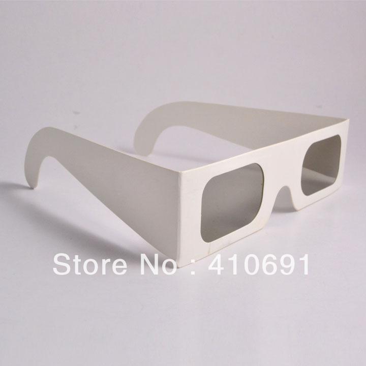 Wholesale 1000pcs/lot 45/135 degrees Paper Cardboard Linear Polarized 3D Glasses, EMS/DHL/FedEx/UPS shipping(China (Mainland))