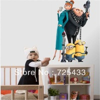 ALWAYS FOREVER-despicable me 2 wall sticker home decor decal free shipping!
