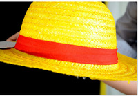 15pcs/lot Free Shipping Wholesale Anime One Piece Monkey D Luffy Straw Hat Cosplay Hat