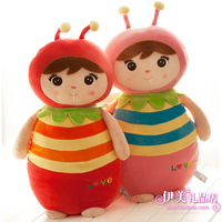 Free shipping new 2013 cute Bee doll pillow small doll best birthday gift for kids multicolor