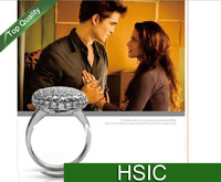 FREESHIPPING VAMPIRE New Arrival TWILIGHT Bella Crystal Ring Replica Engagement Wedding Ring jewelry valentine gift