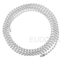 "Minimum order $15 45""L stainless steel long Opera ball Necklace Fashion jewelry Unisex Necklace for pregnancy bola"