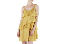 Unique Carmel Women's Dress Yellow