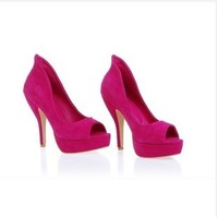 Nana ol elegant open toe high-heeled shoes
