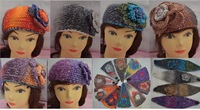 Newest ,handmade knit headband, women warm headwear classic ,mix color,EMS/DHL free shipping