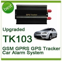 Courier Shipping(5PCS/LOT)! Most Popular Vehicle CAR GPS Tracker with Vehicle Alarm GPS103 TK103A
