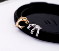 Min.Order $10 cheap Accessories metal skull earrings no pierced clip    fashion 2013 free shipping for women wholesale