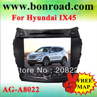 for hyundai ix45 car dvd player with gps navigation