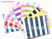 $100 Above Free DHL Shipping 1400pcs vertical/Sailor stripe paper birthday party favor bags, treat bags paper bags