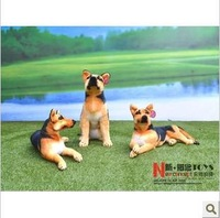 65cm a German shepherd dog toy doll Simulation for love  simulation animal authentic German shepherd pet toy dog gifts