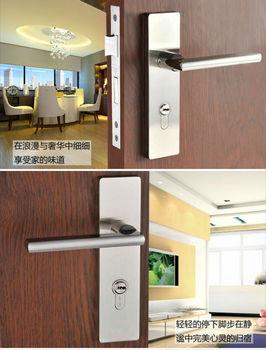 Free Shipping, Hing Quality Locks For  Bedroom Door, Interior Door / Zinc alloy handle