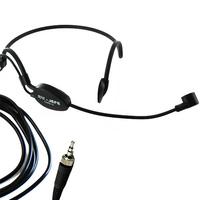 Pro Black ME3 Headset Head Microphone For S E NN - HEISER G1 G2 G3 Wireless Mic System  stereo 3.5MM Screw Lock