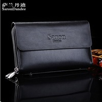Latest Style Genuine Leather Men Hand Bag Wallet Purse Handbags Men large capacity clutch bag SS001  5001