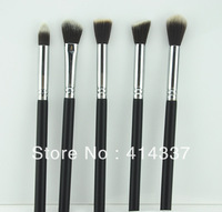 Hot Pro 5Pcs Short Makeup Brush blush Kabuki Set Kit Tool  NEW