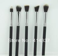 Hot Pro 5Pcs Short Makeup Brush blush Kabuki Set Kit Tool  NEW