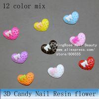 Стразы для ногтей rh747 3d nail art decoration 30pcs alloy nail bow Zircon rhinestone for full nail tip glitter