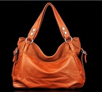New arrival!Fashion Genuine Leather handBag Cowhide Women's Tassel Bag Shoulder Bag Vintage Handbag 3 Colors Gift