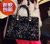 women's messenger chain cosmetic shoulder handbag  handbag