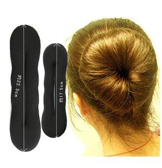 2014 hot head accessory bud head steamed stuffed bun maker head hair stick tape tool sponge hair maker XY-H37(China (Mainland))