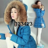 2013 new winter jacket Women's long down jacket brand down jacket female models wholesale factory direct