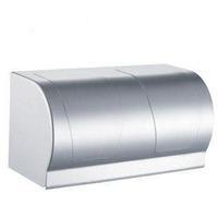 Lengthen paper holder paper towel holder toilet paper box space aluminum tissue paper box rack bathroom