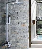 Hot rod shower set copper