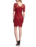 Unique Women's Dress Red