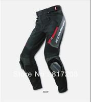 2013 KOMINE PK-717 sports leather + mesh motorbike moto racing pants motorcycle pants riding pants motocross off-road trousers