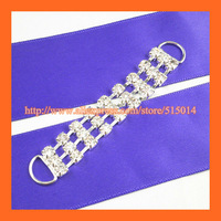Free Shipping !100pcs/lot 8cm Fashion Bikini Rhinestone Connector ,Swimmer Suit Buckle