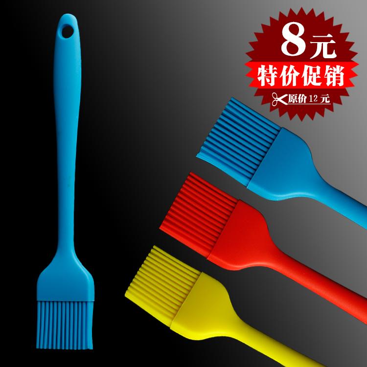 Товары для барбекю Baking tools one-piece silica gel brush cake oil brush wool high temperature resistant bbq brush