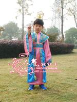 Child dance costume clothes male clothes hanfu costume arrow
