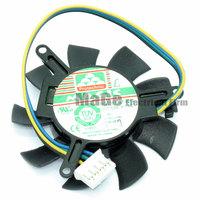 MAGIC MGT5012XF-W10 12V 0.19A 47X47X10MM Frameless graphics card fan