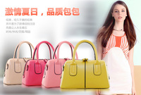 Free Shipping New Women's new fashion candy color pillow bag hand handbag Specials four colors