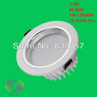 Hot!!! Free Shipping 3x3W Dimmable Warranty 3 Years 3PCS CREE Chip Lifespan 50000H High Lumen 3x3W LED Surface Mounted Downlight