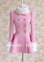 free shipping_Student leisure coat 2013 qiu dong han edition add wool fleece classic female