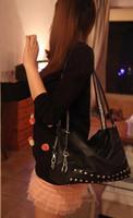 xmas gift bag 2013 pull style brief double chain rivet  women's handbag