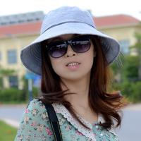 Free shipping T276 hat fluid bucket hat sunbonnet female summer sun hat bucket hats