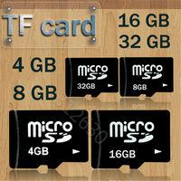 Wholesale 100% Real Micro SD Card 4GB 8GB 16GB TF Card 32GB Memory Card