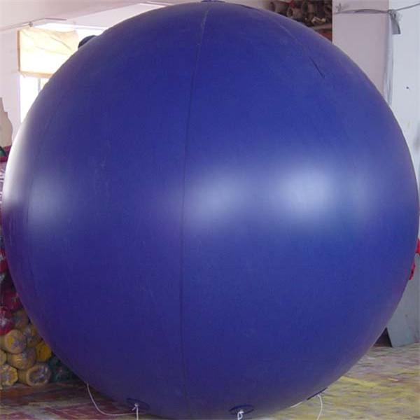 0.18mm Thickness PVC Helium balloon Advertising PVC balloon/sky balloon 2m 6.6ft(China (Mainland))