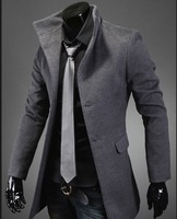 Free Shipping Men's Luxury Casual Style Stylish Design Slim Fit Blazers Coats  dust coat jacket