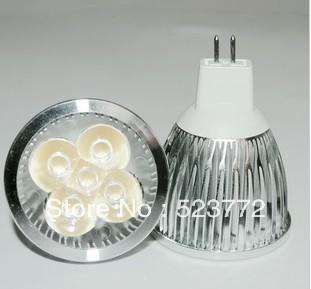 free shipping 4W MR16 led bulbs E27 GU10 4*1W LED spotlight 380~400Lm led downlights(China (Mainland))