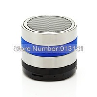 free DHL 10pcs Mini A6 Wireless bluetooth speaker for iphone5 mini MIC Hands-free FM/TF Card Speaker bluetooth for Mobilephone