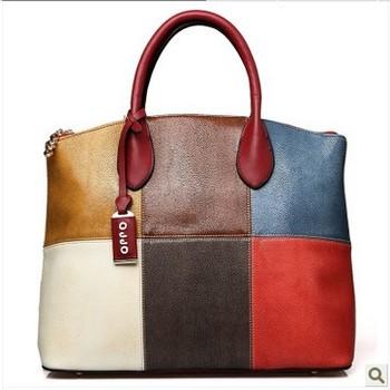 hot sale high quality real brand genuine leather lady handbag, handbags women,leather bag, free shipping,1pce wholesale.170