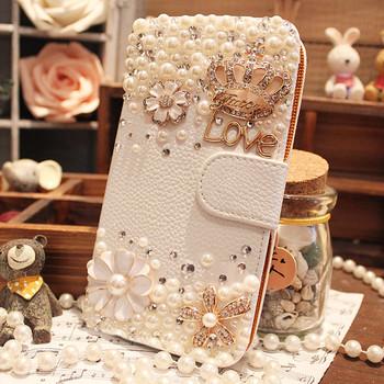 For samsung   3 s3 i9308i9300 s4 i9500i9508i9502 rhinestone mobile phone holsteins phone case