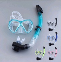 exports full dry type Breathing tube steel set ,snorkel diving set ,present earplug