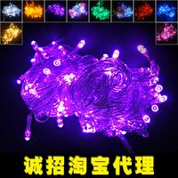 Led lights multicolour christmas lighting string decoration outdoor waterproof led lantern 10 meters