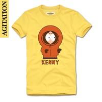 Free shipping ,South park shirts ,2013 100% short-sleeve cotton round neck cartoon  T-shirt