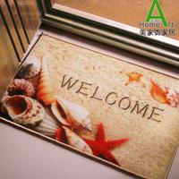 Free shipping small bathroom entranceway carpet fashion Marine design mat